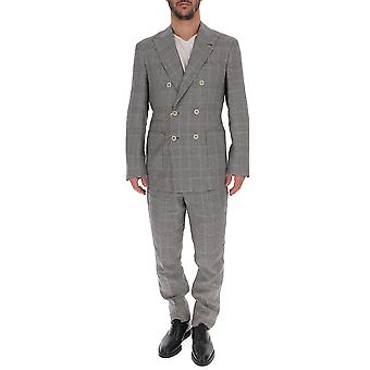 Brunello Cucinelli Blue Cashmere Suit