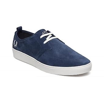 Fred Perry Men's Shields Suede Leather Trainers B1165-458