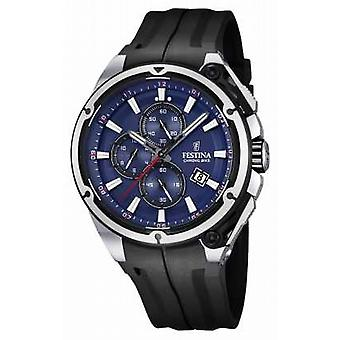 Festina Mens 2015 Chronobike Rubber Strap F16882/2 Watch