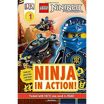 DK Readers L1 - Lego Ninjago - Ninja in Action by DK - 9781465466587 Bo