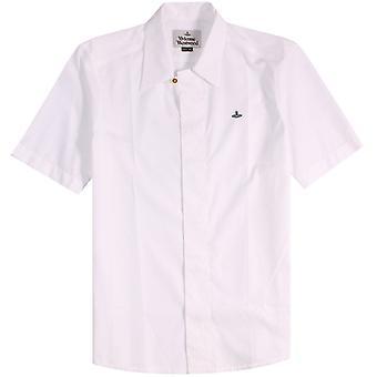 Vivienne Westwood Orb Logo Short Sleeved Shirt