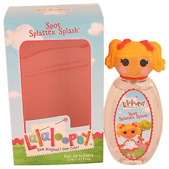 Lalaloopsy by Marmol & Son Eau De Toilette Spray (Spot Splatter Splash) 1.7 oz / 50 ml (Women)