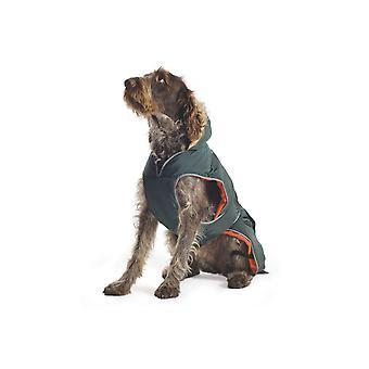 Ancol Muddy Paws Green Parka Dog Coat - Small
