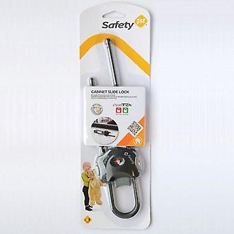 Segurança 1st gabinete slide Lock Grey