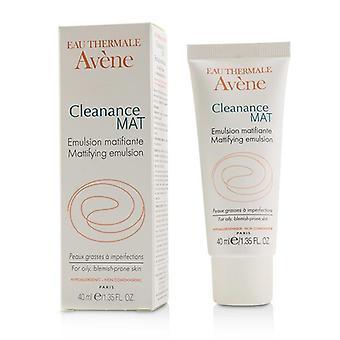 Avene Cleanance Mat Mattifying Emulsion - For Oily Blemish-prone Skin - 40ml/1.35oz