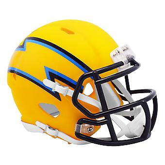 Riddell Speed Mini Football Helm - AMP Los Angeles Chargers