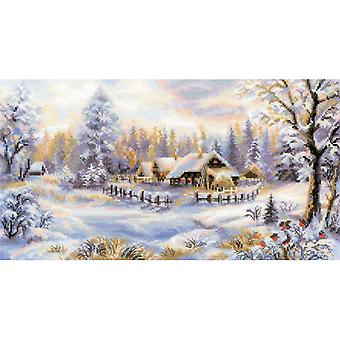 Winter Evening Counted Cross Stitch Kit 16