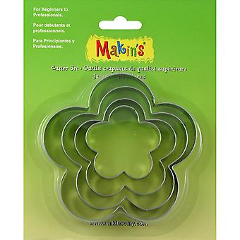 Makin's Clay Cutters 4/Pkg-Flower M365-05