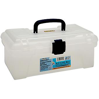 Pro Art Storage Box With Organizer Top 12