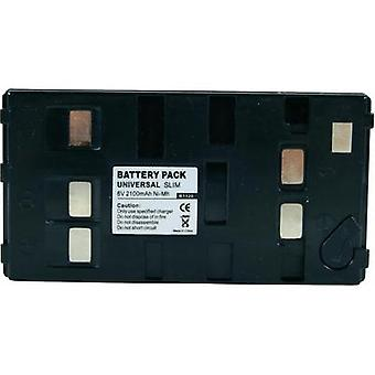 Camera battery Conrad energy replaces original battery Uni-Pan 6 V
