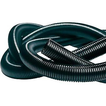 HellermannTyton 169-22130 IWS-13-N6-BK-L1 Isolvin Corrugated Conduit Black 50 M