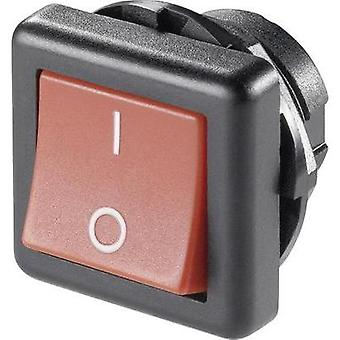 Toggle switch 250 Vac 6 A 1 x Off/On SCI R13-136A-05 RED latch 1 pc(s)