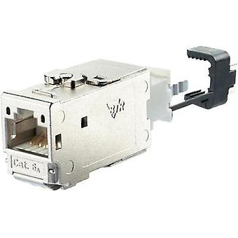 RJ45 module E-DAT CAT 6A Metz Connect 130B11-E