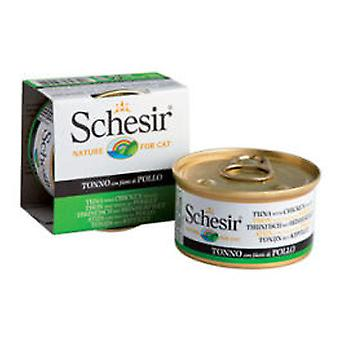 Schesir Tuna with Chicken Fillets in Jelly (Cats , Cat Food , Wet Food)