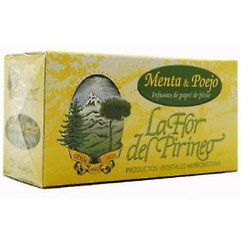 La Flor del Pirineo Pennyroyal Mint Infusion 25U. (Diet)