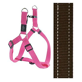 Rogz For Dogs Fanbelt Step-in Choco 20 Mmx53-76 Cm