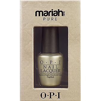OPI Pure 18K White Gold & Silver Top Coat