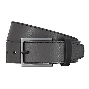 LLOYD Men's belt belts men's belts leather belt grey 4747