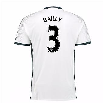 2016-17 man Utd derde Shirt (Bailly 3) - Kids