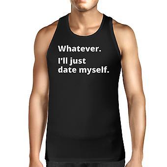 Postarzyć czarna koszulka bez rękawów Top Design humorystyczny mężczyzn