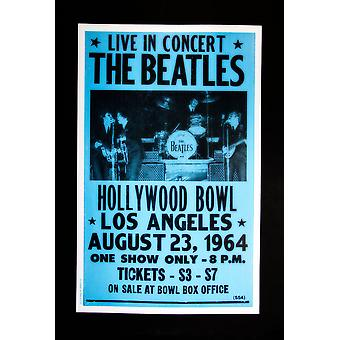 Beatles Concert retro music concert poster