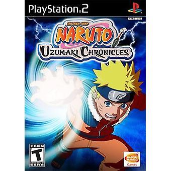 Juego de Naruto Uzumaki Chronicles PS2