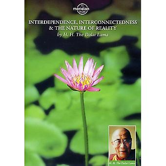 The Dalai Lama: Interdependence, Interconnectedness and the Nature of Reality [DVD] USA import