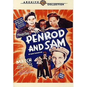 Importación de Penrod y Sam (1937) [DVD] los E.e.u.u.