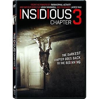 Insidious: Chapter 3 [DVD] USA import