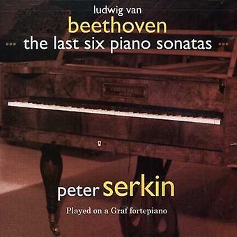 L.V. Beethoven - Beethoven: De laatste zes Piano sonates [CD] USA import