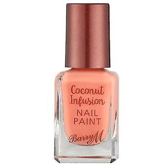 Barry M Coconut Infusion Nail Paint - Flamingo