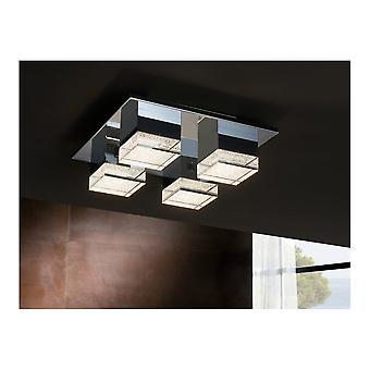 Schuller Prisma LED plafondlamp, 4L