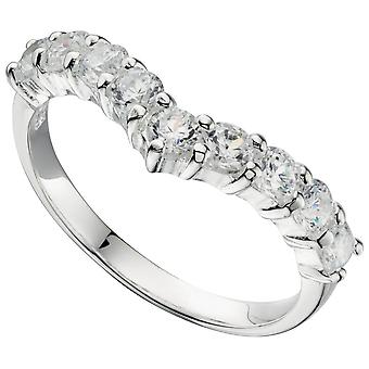 925 Silver Zirconia Ring Fashionable