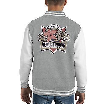 Demogorgons Stranger Things Kid's Varsity Jacket