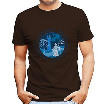 Lord Of The Rings Gandalf A Wise Man's Journey Men's T-Shirt