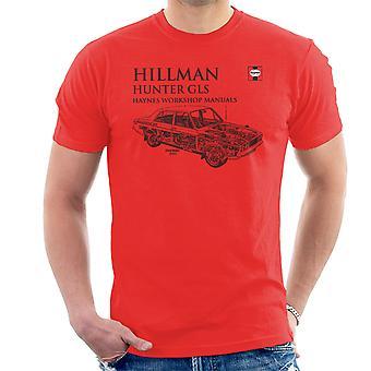 Haynes Workshop Manual 0033 Hillman Hunter GLS Herren T-Shirt schwarz
