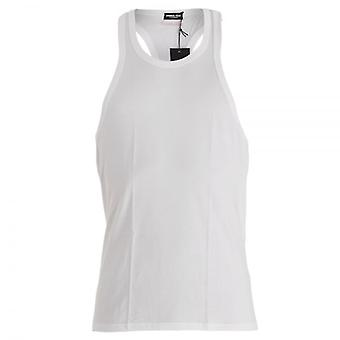 DSQUARED2 Modal Stretch Tank Top, White, Small