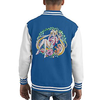 Bloem van Sailor Moon kinderclub Varsity Jacket