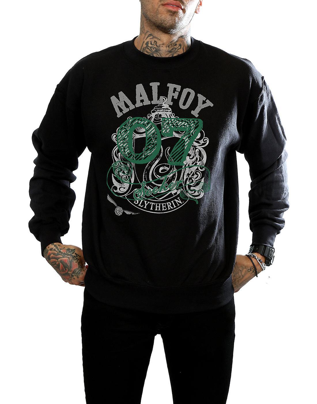 Harry Potter Men's Draco Malfoy Seeker Sweatshirt