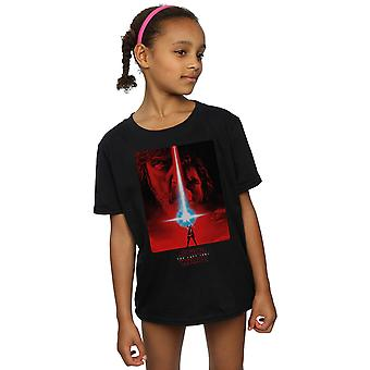 Star Wars Girls The Last Jedi Red Poster T-Shirt