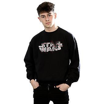 Star le derniers Jedi Spray Logo Sweatshirt Wars masculine