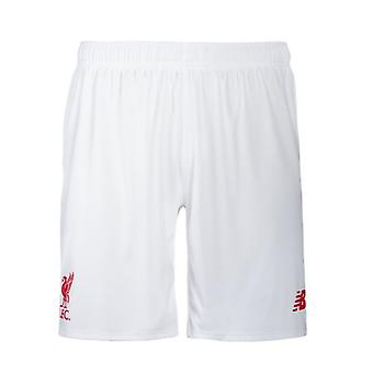 2015-2016 Liverpool Away Shorts (White) - Kids