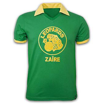 Zaire WC 1974 Short Sleeve Retro Shirt 100% cotton