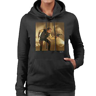 Star Wars Behind The Scenes Han Solo Gun Women's Hooded Sweatshirt