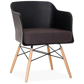 Superstudio Silla Bantra Wood Negro