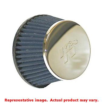 K & N universeel Filter - mariene vlam Arrestor 59-4542 Chrome 0 in (0 mm) past: VN