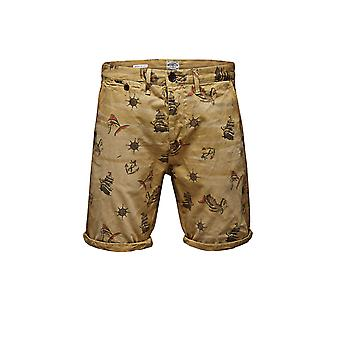 Jack and Jones Erik Pablo Shorts Fog Shorts