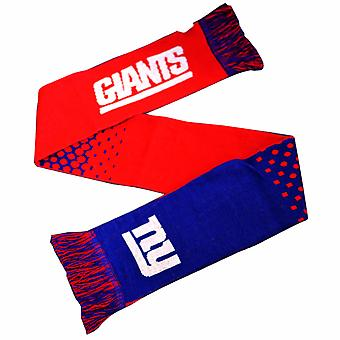 New York Giants Official NFL Fade Crest Design Scarf