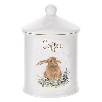 Royal Worcester Wrendale designar kaffe behållare, Hare