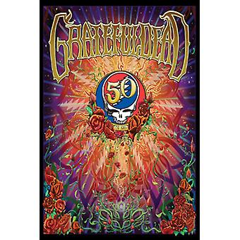 Grateful Dead - 50th Anniversary Poster Poster Print
